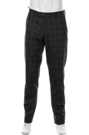 Pantaloni de bărbați S.Oliver, Mărime M, Culoare Gri, 51% poliester, 25% viscoză, 21% lână, 3% elastan, Preț 233,06 Lei