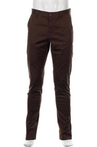 Pantaloni de bărbați S.Oliver, Mărime M, Culoare Maro, 85% bumbac, 11% poliester, 4% elastan, Preț 211,68 Lei