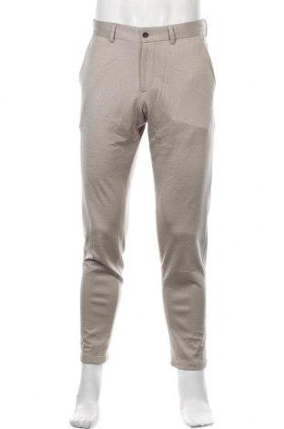 Pantaloni de bărbați S.Oliver, Mărime L, Culoare Bej, 77% lână, 23% bumbac, Preț 275,82 Lei