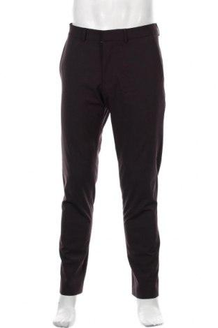 Pantaloni de bărbați S.Oliver, Mărime M, Culoare Mov, 49% lână, 46% poliester, 5% elastan, Preț 275,82 Lei