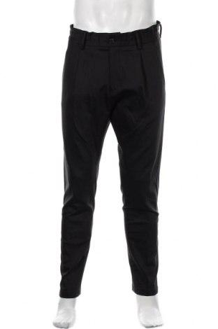 Pantaloni de bărbați S.Oliver, Mărime M, Culoare Negru, 70% bumbac, 26% poliamidă, 4% elastan, Preț 233,06 Lei