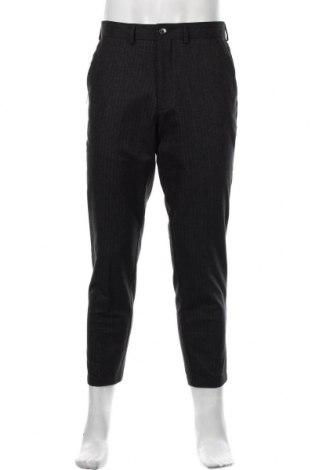 Pantaloni de bărbați S.Oliver, Mărime M, Culoare Gri, 68% bumbac, 19% poliester, 11% viscoză, 2% elastan, Preț 211,68 Lei