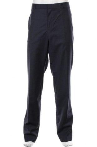Pantaloni de bărbați S.Oliver, Mărime XL, Culoare Albastru, 80% lână, 10% poliester, 10% poliamidă, Preț 275,82 Lei