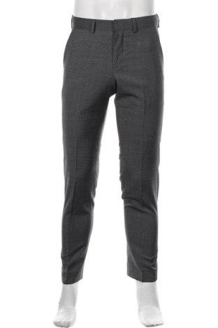 Pantaloni de bărbați S.Oliver, Mărime S, Culoare Gri, 56% poliester, 42% lână, 2% elastan, Preț 233,06 Lei