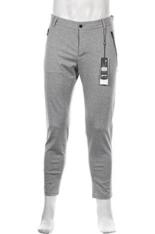 Pantaloni de bărbați S.Oliver, Mărime M, Culoare Gri, 52% poliester, 43% viscoză, 5% elastan, Preț 215,13 Lei