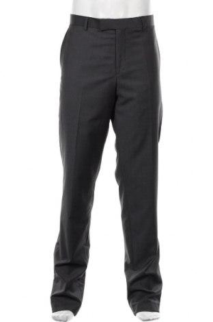 Pantaloni de bărbați S.Oliver, Mărime L, Culoare Gri, 80% lână de alpaca, 10% poliester, 10% poliamidă, Preț 169,74 Lei