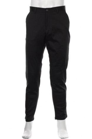 Pantaloni de bărbați S.Oliver, Mărime L, Culoare Negru, 56% poliester, 42% bumbac, 2% elastan, Preț 215,13 Lei