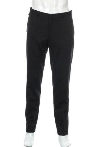 Pantaloni de bărbați S.Oliver, Mărime L, Culoare Negru, 60% viscoză, 32% poliamidă, 8% elastan, Preț 148,75 Lei