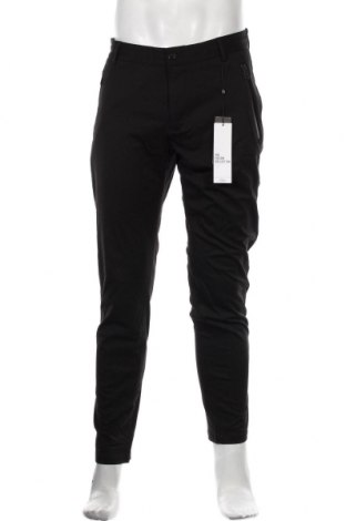 Pantaloni de bărbați S.Oliver, Mărime M, Culoare Negru, 52% poliester, 43% viscoză, 5% elastan, Preț 294,08 Lei