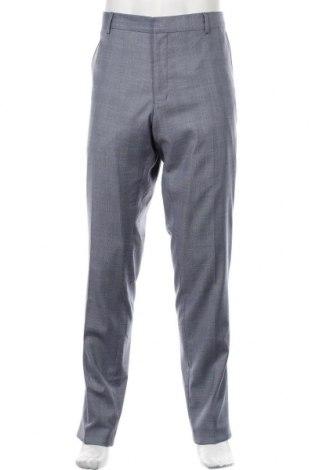 Pantaloni de bărbați S.Oliver, Mărime XL, Culoare Albastru, 68% poliester, 29% viscoză, 3% elastan, Preț 211,68 Lei