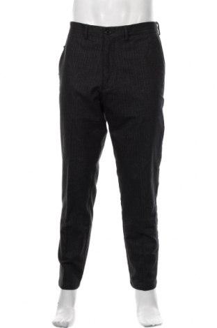 Pantaloni de bărbați S.Oliver, Mărime L, Culoare Gri, 68% bumbac, 19% poliester, 11% viscoză, 2% elastan, Preț 121,05 Lei
