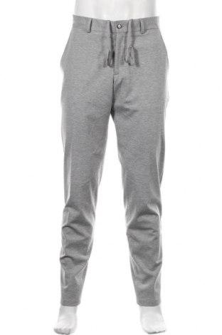 Pantaloni de bărbați S.Oliver, Mărime L, Culoare Gri, 52% poliester, 43% viscoză, 5% elastan, Preț 140,03 Lei