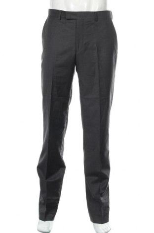 Pantaloni de bărbați S.Oliver, Mărime L, Culoare Gri, 62% lână, 21% poliester, 17% poliamidă, Preț 254,44 Lei