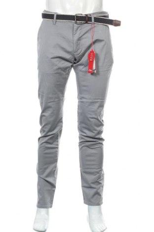 Pantaloni de bărbați S.Oliver, Mărime M, Culoare Gri, 98% bumbac, 2% elastan, Preț 117,10 Lei