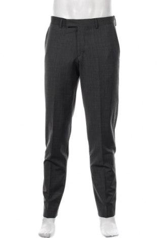Pantaloni de bărbați S.Oliver, Mărime M, Culoare Gri, 53% poliester, 43% lână, 4% elastan, Preț 205,26 Lei