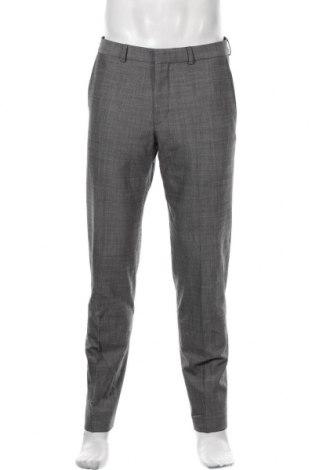 Pantaloni de bărbați S.Oliver, Mărime M, Culoare Gri, 96% lână, 4% elastan, Preț 254,44 Lei
