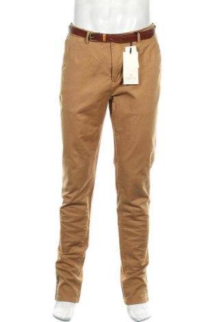 Pantaloni de bărbați Scotch & Soda, Mărime M, Culoare Maro, 97% bumbac, 3% elastan, Preț 432,23 Lei