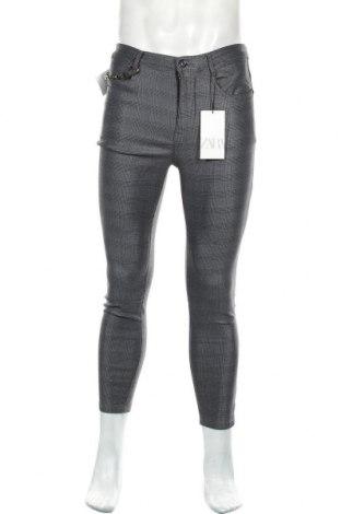 Pantaloni de bărbați Zara, Mărime S, Culoare Multicolor, 76% bumbac, 22% poliester, 2% elastan, Preț 158,88 Lei