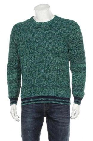 Ανδρικό πουλόβερ Angelo Litrico, Μέγεθος M, Χρώμα Πράσινο, Βαμβάκι, Τιμή 16,24€