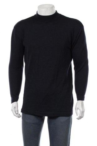 Ανδρικό πουλόβερ Flou, Μέγεθος L, Χρώμα Μπλέ, Μερινό, Τιμή 18,19€