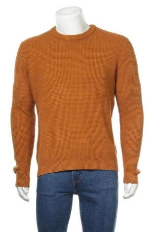 Ανδρικό πουλόβερ H&M, Μέγεθος M, Χρώμα Καφέ, 55%ακρυλικό, 45% βαμβάκι, Τιμή 18,84€