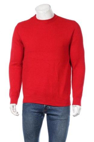 Ανδρικό πουλόβερ H&M, Μέγεθος M, Χρώμα Κόκκινο, 55%ακρυλικό, 45% βαμβάκι, Τιμή 15,59€