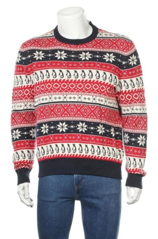 Ανδρικό πουλόβερ H&M L.O.G.G., Μέγεθος L, Χρώμα Πολύχρωμο, Βαμβάκι, Τιμή 18,84€
