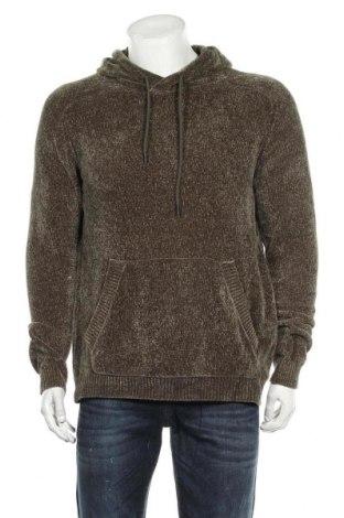 Мъжки пуловер Jack & Jones, Размер L, Цвят Зелен, Полиестер, Цена 39,90лв.