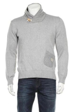 Мъжки пуловер Jack & Jones, Размер M, Цвят Сив, Памук, Цена 37,91лв.