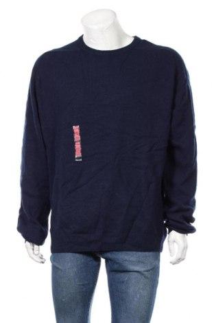 Ανδρικό πουλόβερ Marks & Spencer, Μέγεθος XXL, Χρώμα Μπλέ, Μαλλί, Τιμή 29,88€
