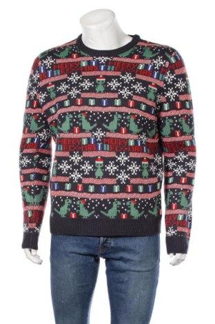 Ανδρικό πουλόβερ Only & Sons, Μέγεθος L, Χρώμα Μπλέ, Τιμή 16,24€