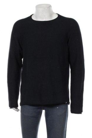 Мъжки пуловер Originals By Jack & Jones, Размер XL, Цвят Син, Памук, Цена 46,20лв.