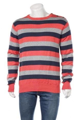Мъжки пуловер Originals By Jack & Jones, Размер L, Цвят Многоцветен, Памук, Цена 40,95лв.