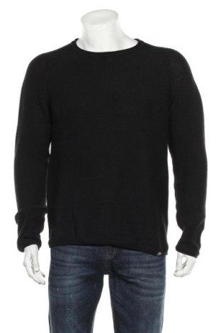 Мъжки пуловер Originals By Jack & Jones, Размер XL, Цвят Черен, Памук, Цена 47,25лв.
