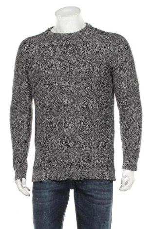 Мъжки пуловер Originals By Jack & Jones, Размер M, Цвят Сив, 65% памук, 35% акрил, Цена 43,89лв.