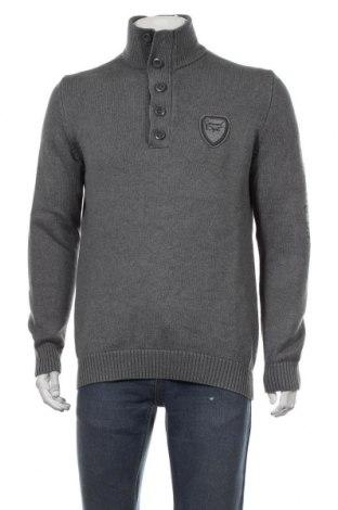 Ανδρικό πουλόβερ S.Oliver, Μέγεθος L, Χρώμα Γκρί, Βαμβάκι, Τιμή 18,84€