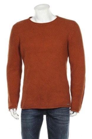 Ανδρικό πουλόβερ Smog, Μέγεθος M, Χρώμα Καφέ, Τιμή 16,89€