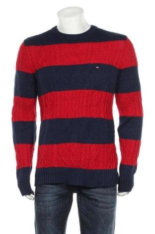 Ανδρικό πουλόβερ Tommy Hilfiger, Μέγεθος M, Χρώμα Μπλέ, 63% βαμβάκι, 37%ακρυλικό, Τιμή 30,23€