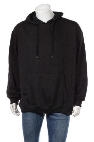 Ανδρικό φούτερ Boohoo, Μέγεθος M, Χρώμα Μαύρο, 50% βαμβάκι, 50% πολυεστέρας, Τιμή 18,95€