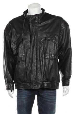 Мъжко кожено яке, Размер XL, Цвят Кафяв, Естествена кожа, Цена 86,10лв.
