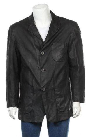 Pánská kožená bunda  Milestone, Velikost L, Barva Černá, Pravá kůže, Cena  1738,00Kč