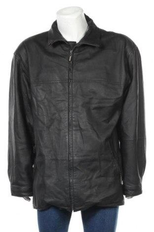 Мъжко кожено яке TCM, Размер XL, Цвят Черен, Естествена кожа, Цена 82,95лв.