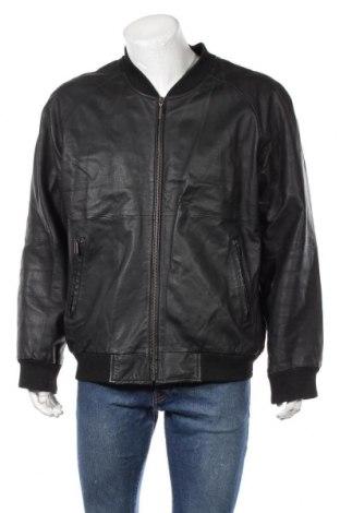 Мъжко кожено яке TCM, Размер L, Цвят Черен, Естествена кожа, Цена 70,35лв.