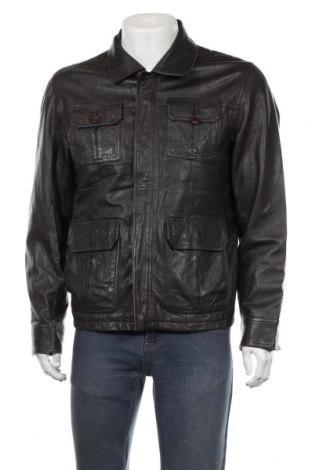 Pánská kožená bunda  Zara Man, Velikost L, Barva Černá, Pravá kůže, Cena  1530,00Kč