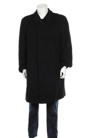 Palton de bărbați Bugatti, Mărime XXL, Culoare Negru, 65% lână, 30% poliester, 5% cașmir, Preț 135,28 Lei