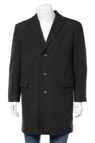 Ανδρικά παλτό, Μέγεθος L, Χρώμα Γκρί, 50% πολυεστέρας, 50% μαλλί, Τιμή 41,57€