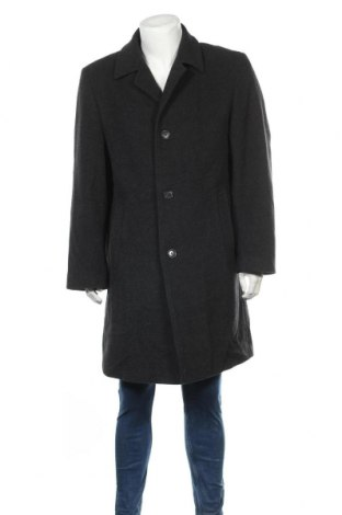 Мъжко палто A.W.Dunmore, Размер XL, Цвят Сив, 80% вълна, 20% полиестер, Цена 50,40лв.