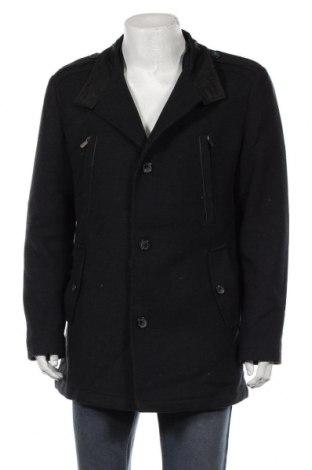 Мъжко палто Altinyildiz, Размер XL, Цвят Син, 60% вълна, 30% полиестер, 10% акрил, Цена 50,09лв.