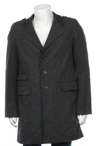 Мъжко палто Azzaro, Размер M, Цвят Сив, Цена 146,48лв.