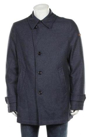 Palton de bărbați Baldessarini, Mărime L, Culoare Albastru, 75% lână, 25% poliamidă, Preț 573,59 Lei